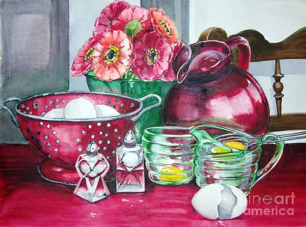 Painting - Kitchen Kitsch by Jane Loveall