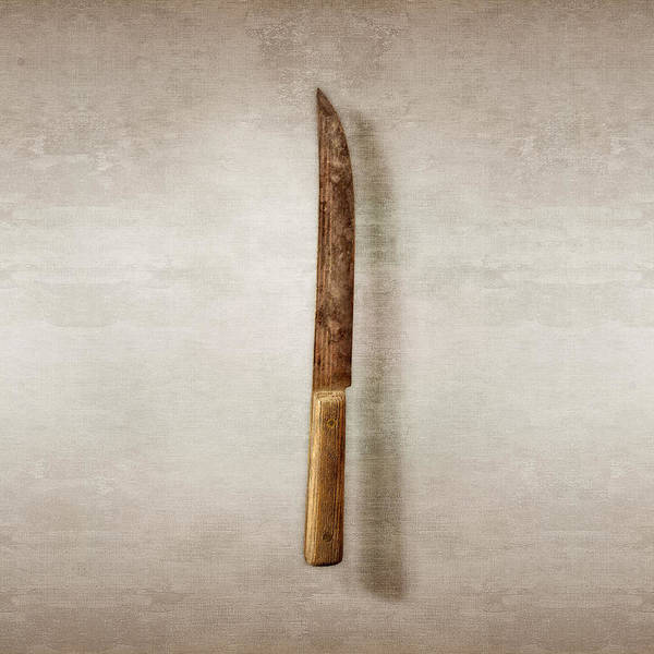 Blades Photograph - Kitchen Knife by YoPedro