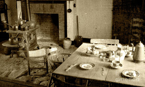 Photograph - Kitchen Work Area by Pete Hellmann