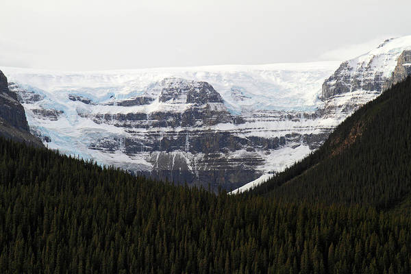 Photograph - Kitchener Glacier In Jasper  by Pierre Leclerc Photography