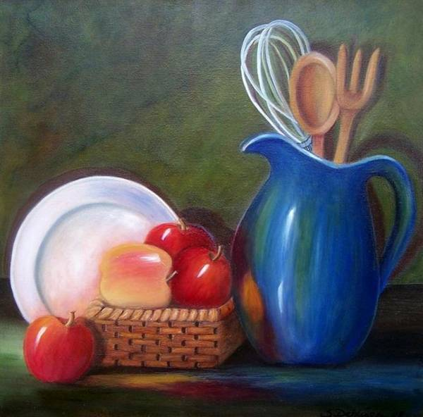 Painting - Kitchenware  by Susan Dehlinger