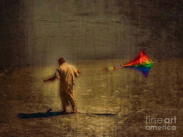 Photograph - Kite Flying As Therapy by Jeff Breiman
