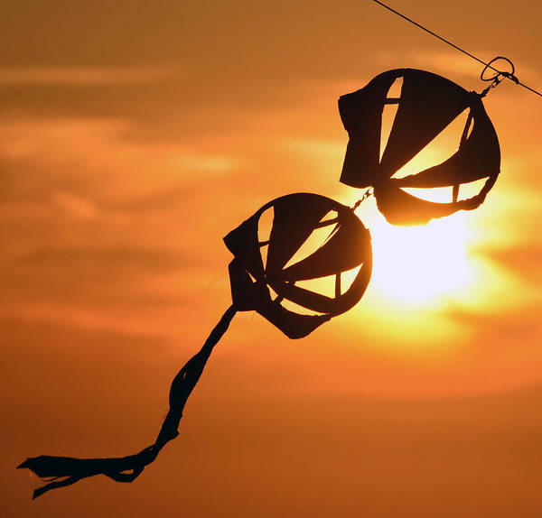Flying A Kite Photograph - Kite On A String by David Lee Thompson