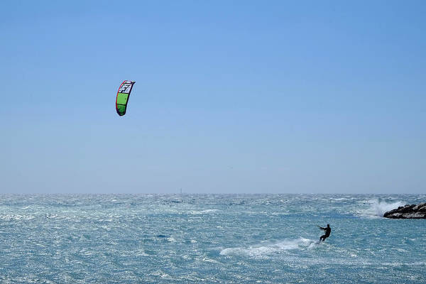 Photograph - Kitesurfing Marseille by August Timmermans