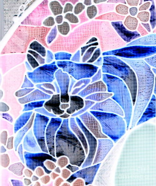 Photograph - Kitty Kat Blue by Marie Neder