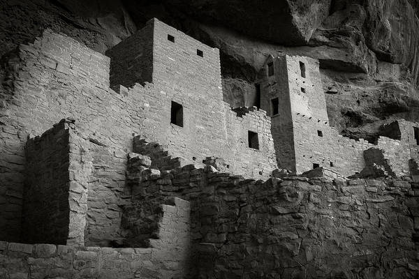 Photograph - Kivas, Cliff Palace by Bud Simpson