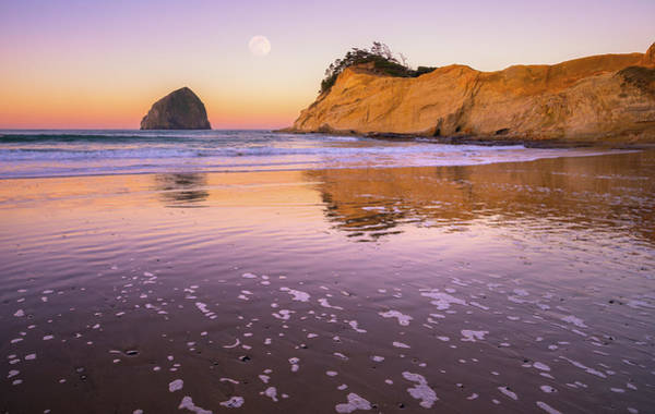 Photograph - Kiwanda Moon by Darren White