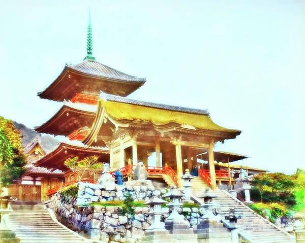 Photograph - Kiyomidzu Entrance by John Feiser
