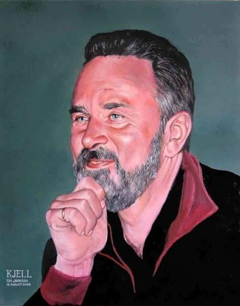 Painting - Kjell by Tim Johnson