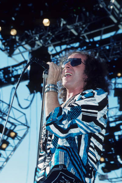 Photograph - Klaus Meine by Rich Fuscia