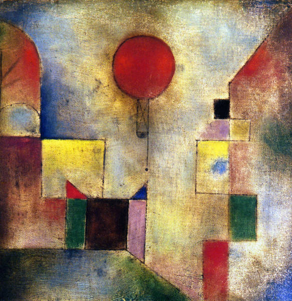 Photograph - Klee: Red Balloon, 1922 by Granger