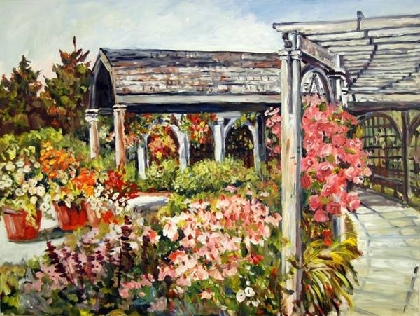 Klehm Arboretum I Art Print