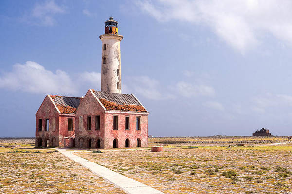 Photograph - Klein Curacao Lighthouse by For Ninety One Days