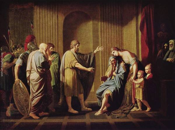 Painting - Kleombrotos Sent Into Exile By Leonidas II by Celestial Images