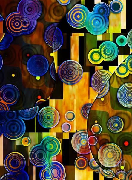 Wall Art - Digital Art - Klimt Inspired I by Amanda Moore