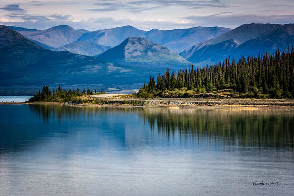 Photograph - Kluane Lake by Claudia Abbott