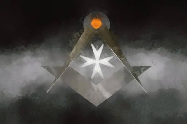 Masonic Wall Art - Painting - Knight Mason by Pierre Blanchard