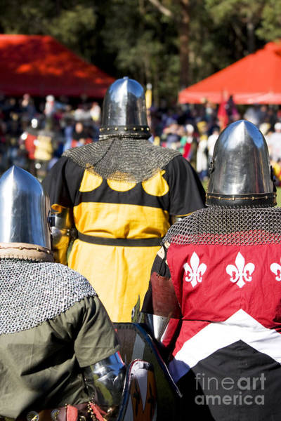 Armored Photograph - Knight Squad by Jorgo Photography - Wall Art Gallery