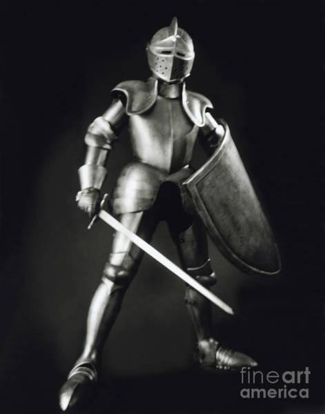 Medieval Wall Art - Photograph - Knight by Tony Cordoza