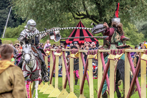 Wall Art - Photograph - Knights Clash by W Chris Fooshee