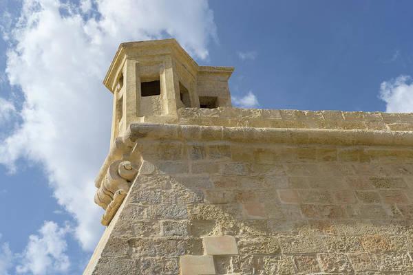 Photograph - Knights Of Malta Legacy - Creamy Honey Bartizan Roughened By The Centuries by Georgia Mizuleva