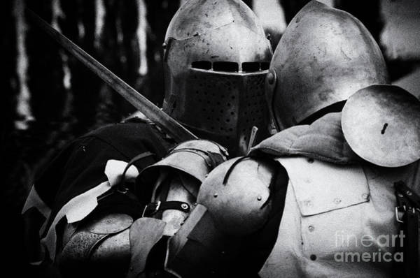 Wall Art - Photograph - Knight Fight 2 by Bob Christopher