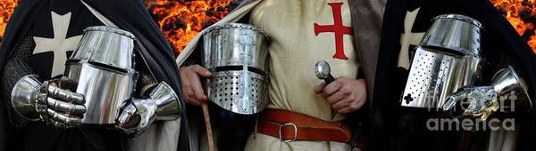 Knights Templar Photograph - Knights Templar by Bob Christopher