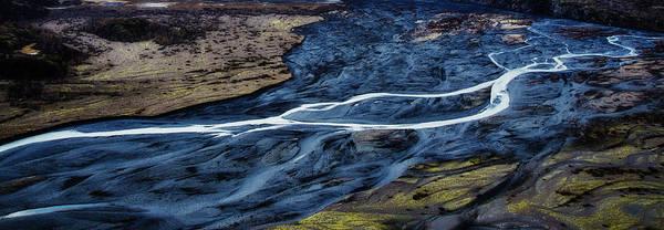 Anchorage Photograph - Knik Glacier Runoff by Pelo Blanco Photo