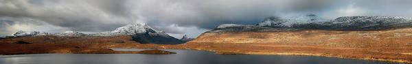 Photograph - Knockan Crag Mountain View by Grant Glendinning