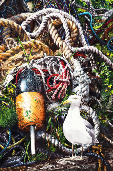 Painting - Knots Landing by Peter Williams