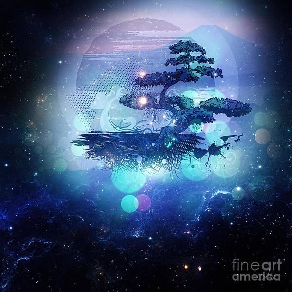 Bonsai Tree Digital Art - Knowledge by Mo T
