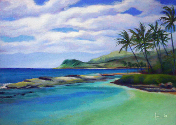 Painting - Ko Olina Afternoon by Angela Treat Lyon