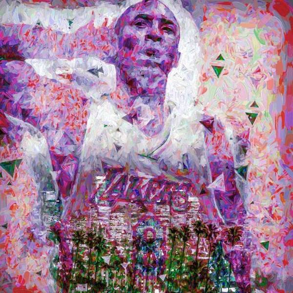 Drawing Wall Art - Photograph - #kobe #kobebryant #24 #1 #nba by David Haskett II