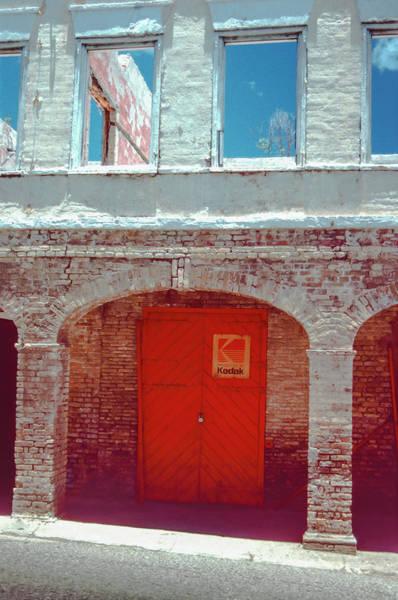Photograph - Kodak Door by Wes Jimerson