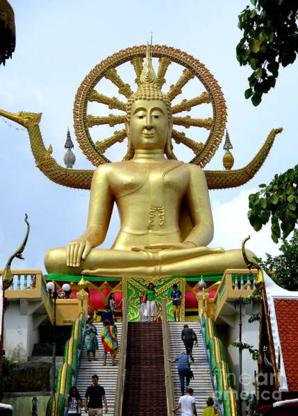 Koh Samui Photograph - Koh Samui Big Buddha 1 by Randall Weidner