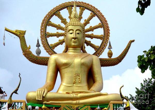 Koh Samui Photograph - Koh Samui Big Buddha 3 by Randall Weidner