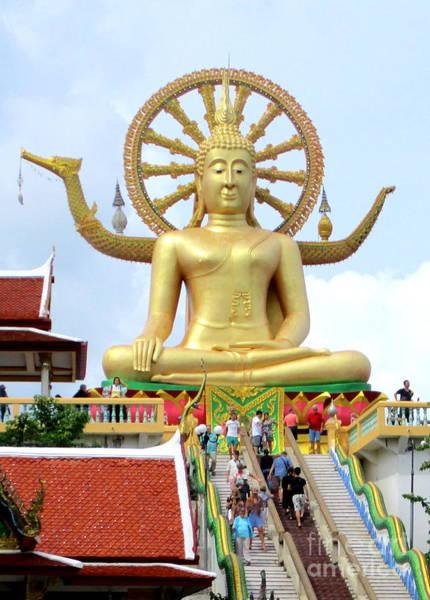 Koh Samui Photograph - Koh Samui Big Buddha 5 by Randall Weidner