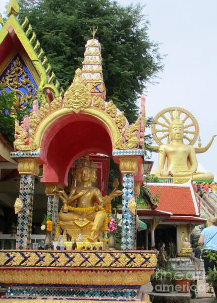 Koh Samui Photograph - Koh Samui Big Buddha 6 by Randall Weidner