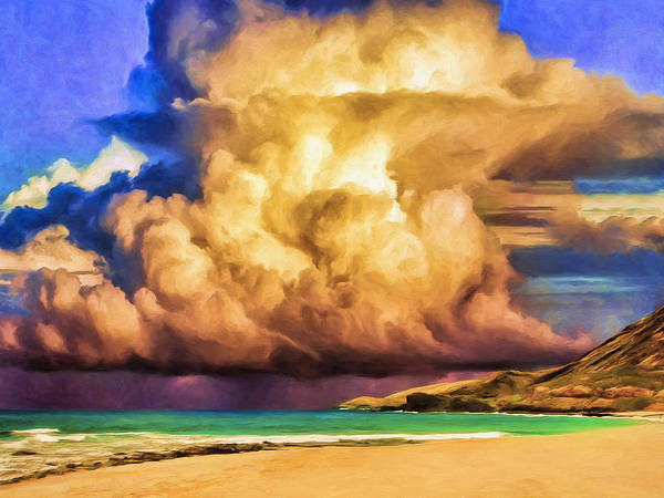 Painting - Kohala Storm Clouds by Dominic Piperata