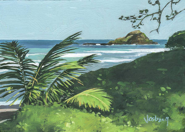 Wall Art - Painting - Koki Beach And Alau Island Hana by Stacy Vosberg