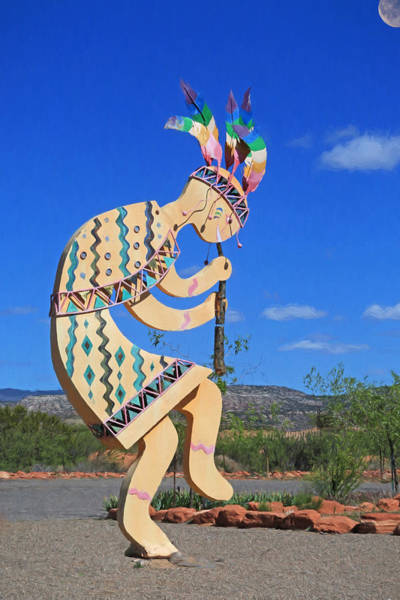 Kokopelli Photograph - Kokopelli by Donna Kennedy