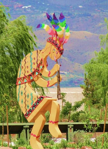 Kokopelli Photograph - Kokopelli by Mary Dunham Walters