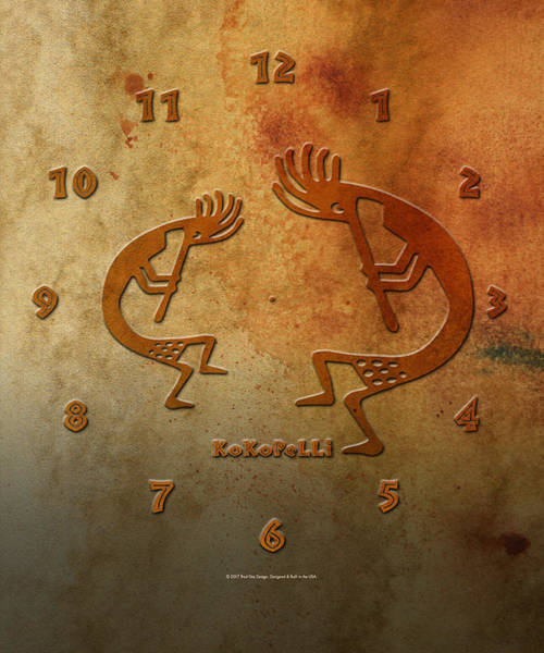 Digital Art - Kokopelli by Paul Gaj