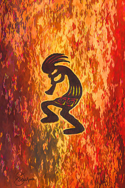 Kokopelli Photograph - Kokopelli - Spirit Of Music by Jennifer Stackpole
