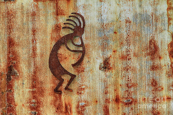 Kokopelli Photograph - Kokopelli The Hatchet Man by Teresa Zieba