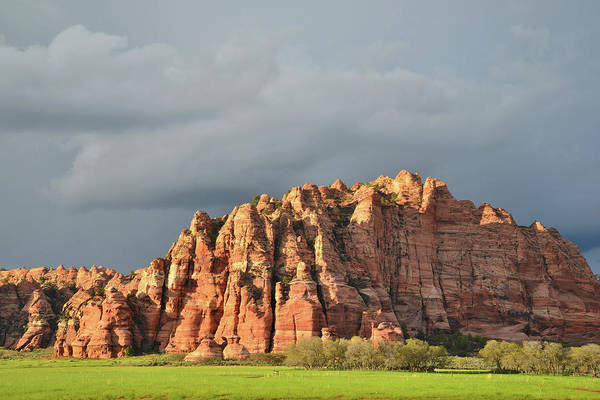 Photograph - Kolob Buttes After The Storm by Ray Mathis