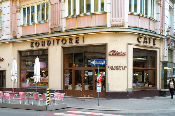 Photograph - Konditorei Cafe by Sharon Popek