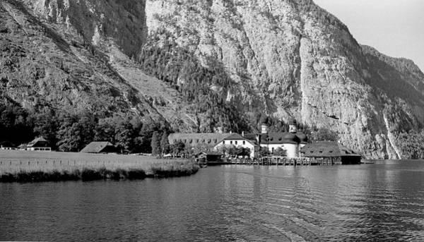 Photograph - Konigssee Lake And Saint Bartoloma 2 by Lee Santa