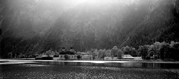Photograph - Konigssee Lake And Saint Bartoloma by Lee Santa