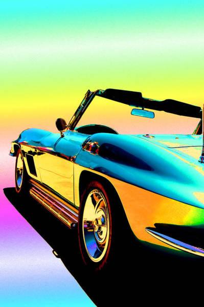 Father Wall Art - Photograph - Kool Corvette by Lynn Andrews